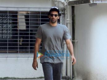 Aditya Roy Kapur snapped in Mumbai