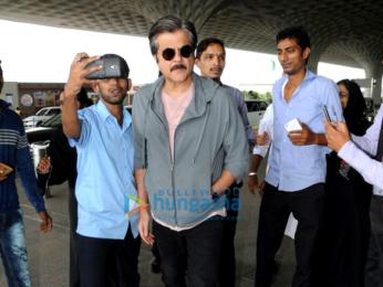 Anil Kapoor and Krishika Lulla snapped at the airport
