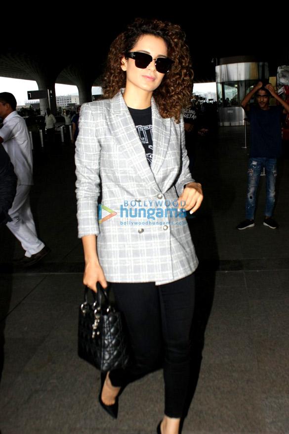 Anushka Sharma, Kangana Ranaut, Ayushmann Khurrana snapped at the airport
