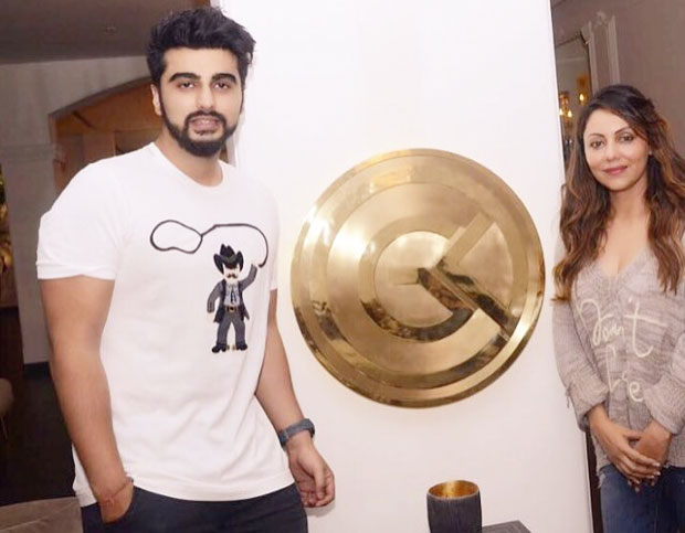 Arjun Kapoor impresses with his sense of humour during his 'meet and greet' with Gauri Khan-2