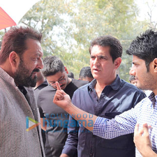 On The Sets Of The Movie Bhoomi