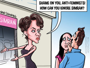 Bollywood Toons Kangana Rananut's Simran fails to lure the audience!