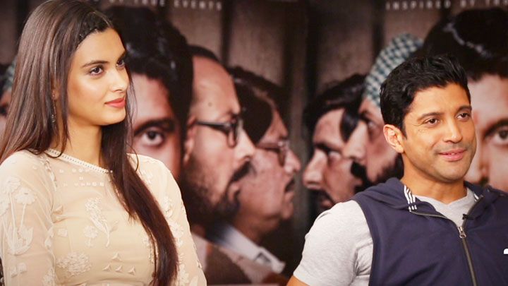 Check Out The Super Fun Teaser Of Farhan Akhtar- Diana Penty Interview Lucknow Central video
