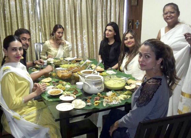 Check out Malaika Arora, Amrita Arora and Karisma Kapoor celebrate the auspicious day of Onam1