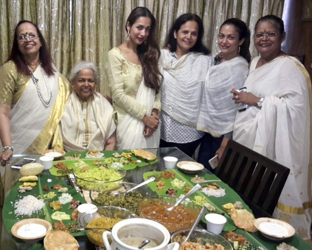 Check out Malaika Arora, Amrita Arora and Karisma Kapoor celebrate the auspicious day of Onam2