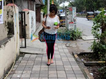 Chitrangada Singh snapped in Bandra
