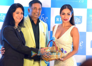 Malaika Arora at the launch of Richfeel Ice Cube 2.0 technology