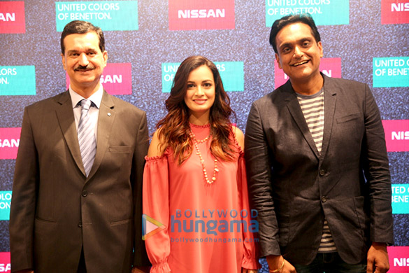 Dia Mirza graces the launch of new Nissan India Micra 'Fashion Edition'