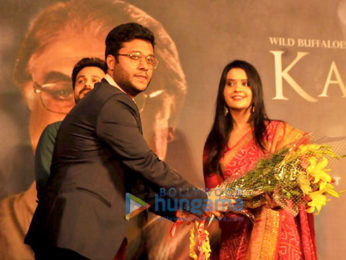 Emraan Hashmi & Amruta Fadnavis launch Divyansh Pandit's short film Karta Tu Dharta Tu - A Tribute to Mumbai Police