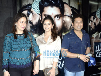 Farhan Akhtar at 'Lucknow Central' live feed event
