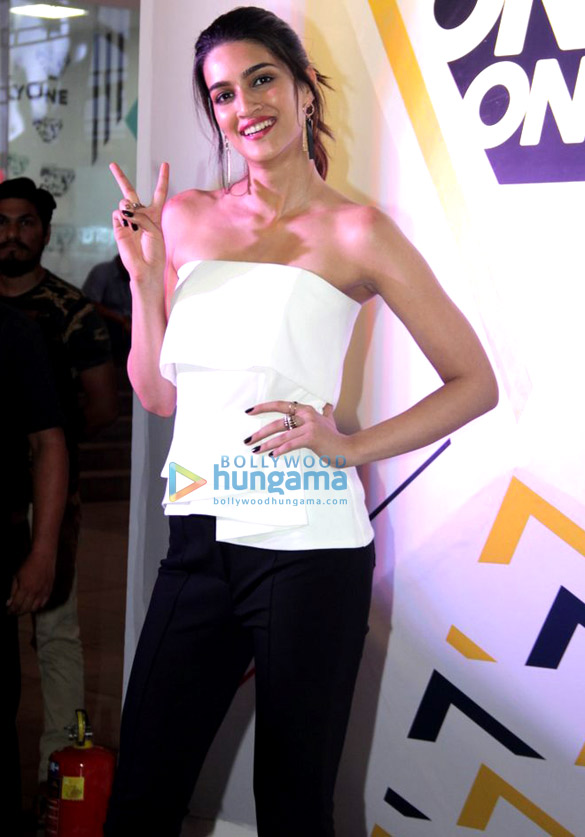 Kriti Sanon snapped at Jockey event in Mumbai