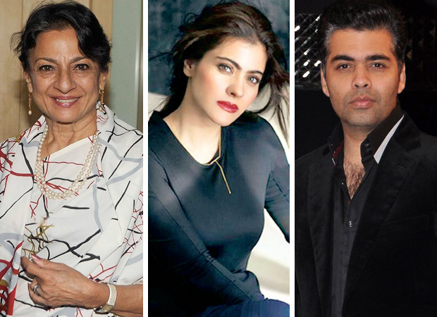 It was Tanuja who patched up Kajol and KJo!