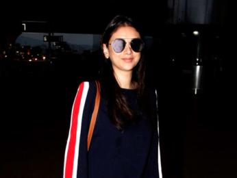 Jacqueline Fernandez and Aditi Rao Hydari snapped at the airport