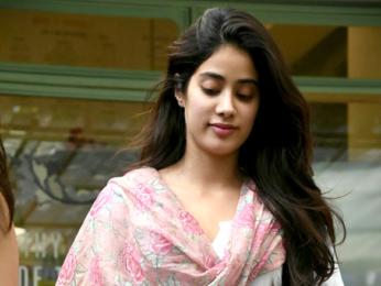 Jahnavi Kapoor snapped at The Kitchen Garden in Bandra