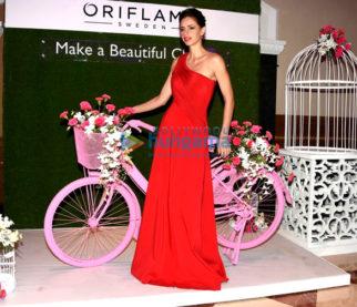 Kalki Koechlin graces the launch of Oriflame's new range