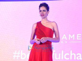 Kalki Koechlin graces the launch of Oriflame's new range