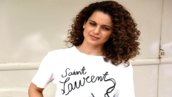 Kangana Rananut snapped promoting her film Simran