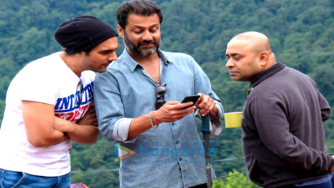 On The Sets Of The Movie Kedarnath