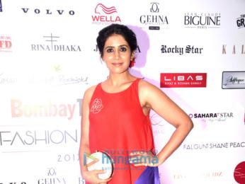 Kiara Advani, Harshvardhan Rane, Shriya Saran, Divya Khosla Kumar, Tusshar Kapoor at Bombay Times Fashion Week