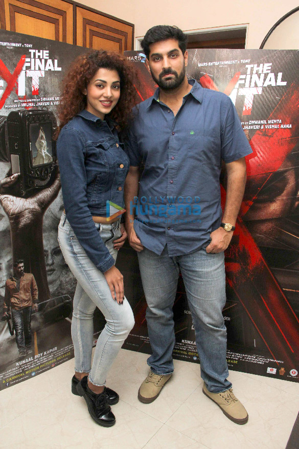 Kunaal Roy Kapur, Ananya Sengupta and others grace the press meet of the film 'The Final Exit'