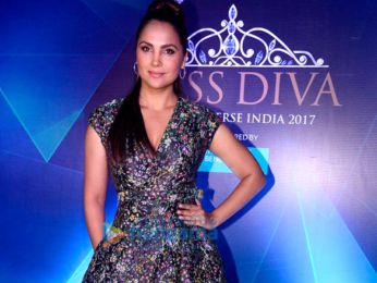 Lara Dutta and Urvashi Rautela attend the Yamaha Fascino Miss Diva 2017 Bloggers Meet