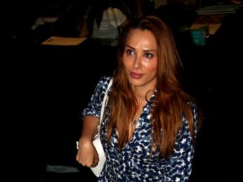 Iulia Vantur snapped post her nail salon session