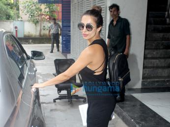 Malaika Arora snapped post meeting in Bandra