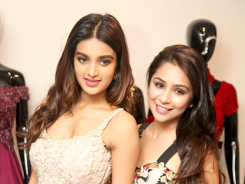 Nidhhi Agerwal graces Sonaakshi Raaj's new store launch in Delhi