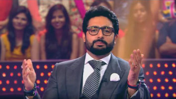 OMG! Abhishek Bachchan couldn't answer a question on football on this show and his father is surprised (1)