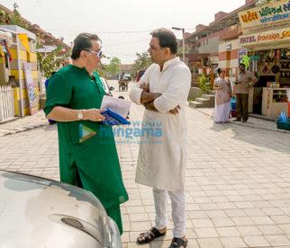 On The Sets Of The Movie Patel Ki Punjabi Shaadi