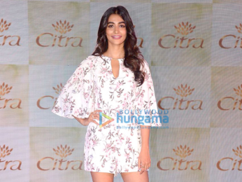 Pooja Hegde graces the launch of Citra cosmetics