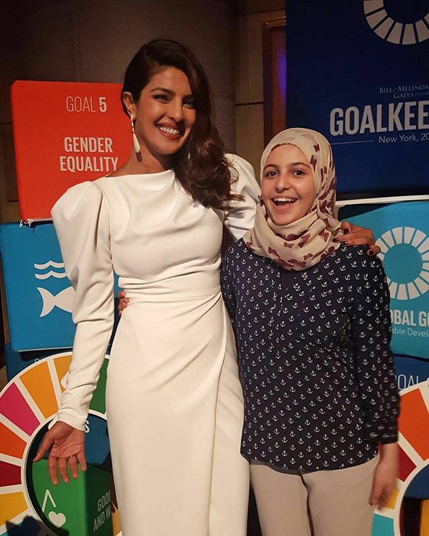 Priyanka Chopra speaks at UN Global Goals Awards; meets UNICEF's youngest goodwill ambassador-2