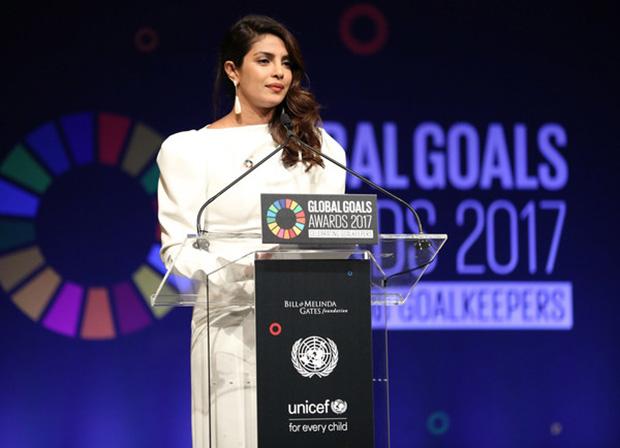 Priyanka Chopra speaks at UN Global Goals Awards; meets UNICEF's youngest goodwill ambassador-3