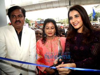 Raashi Khanna at the 'BiG C' launch