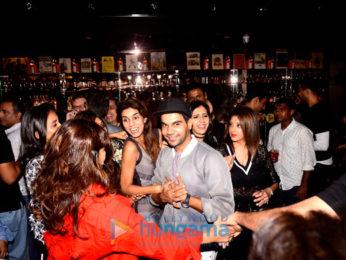Rajkummar Rao, Patralekha and others at the launch of 'London Taxi' restobar