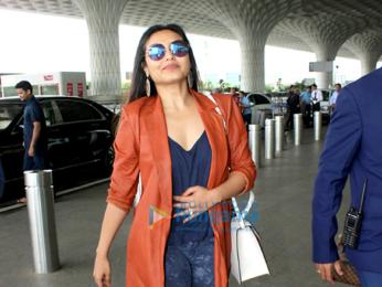Rani Mukherji snapped at the airport today