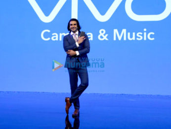 Ranveer Singh attends the launch of Vivo V7 Plus