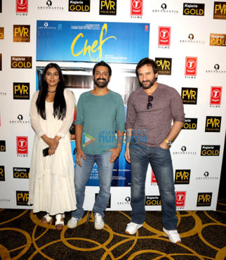 Saif Ali Khan promotes 'Chef' in New Delhi