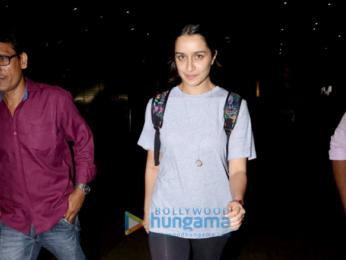 Shraddha Kapoor, Sushmita Sen and Tamannaah Bhatia snapped at the airport
