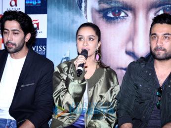 Shraddha Kapoor promotes Haseena Parkar with the team at Odeon Carnival Cinemas in Delhi