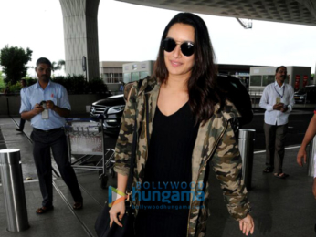 Shraddha Kapoor snapped at the airport