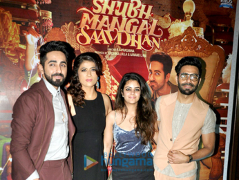 Success bash of 'Shubh Mangal Saavdhan'
