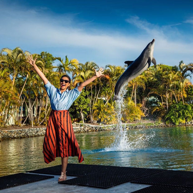 These pictures of Parineeti Chopra with Dolphins will make your day-1