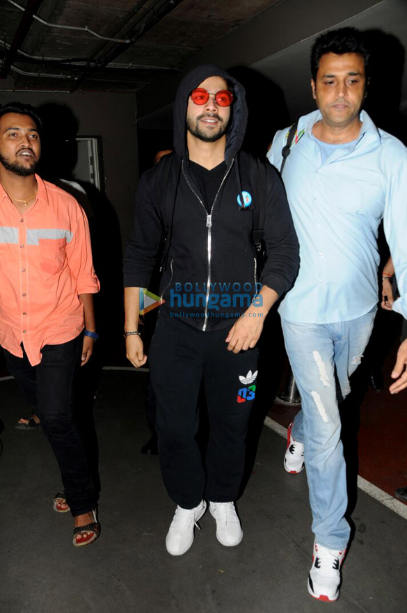 Varun Dhawan arrived from Budapest