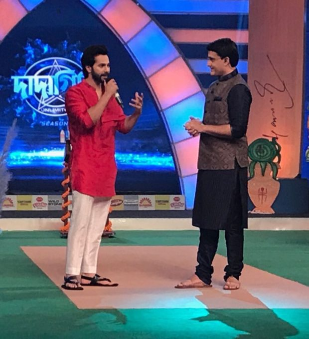 Varun Dhawan makes Sourav Ganguly