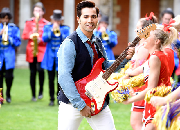 http://media2.bollywoodhungama.in/wp-content/uploads/2017/09/Varun-Dhawan-playing-the-sax-gets-the-axe.jpg