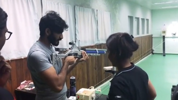 WOW! Harshvardhan Kapoor begins prep for Abhinav Bindra biopic