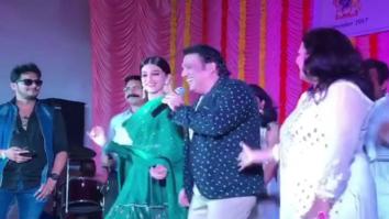 WOW! Kriti Sanon dances with Govinda on 'Main Toh Raste Se Ja Raha Tha'
