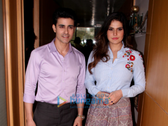 Zareen Khan and Gautam Rode snapped at 'Aksar 2' promotions