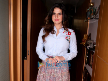 Zareen Khan and Gautam Rode snapped at 'Aksar 2' promotions